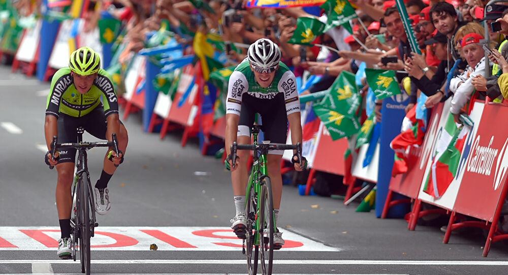 ciclista sufre taquicardia durante vuelta a España