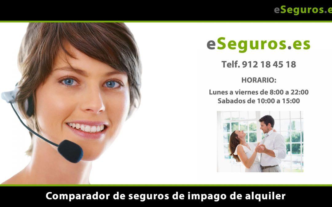 Nuevo Comparador de Seguros de Impago de Alquiler en www.eSeguros.es