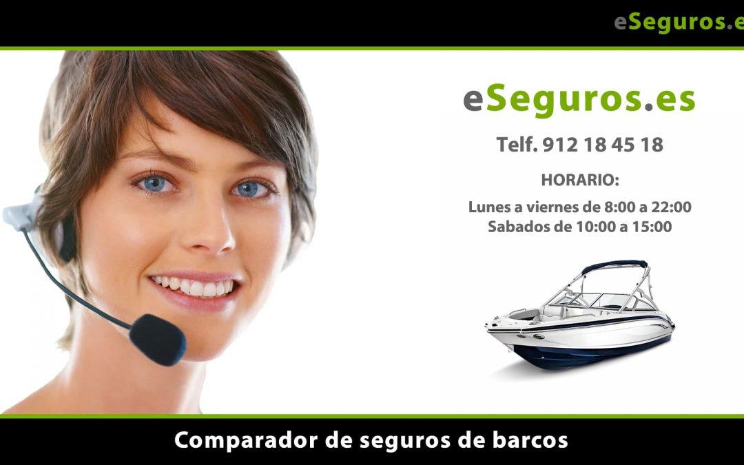 Nuevo Comparador de Seguros de Barcos en www.eSeguros.es