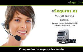 Nuevo Comparador de Seguros de Camiones en www.eSeguros.es