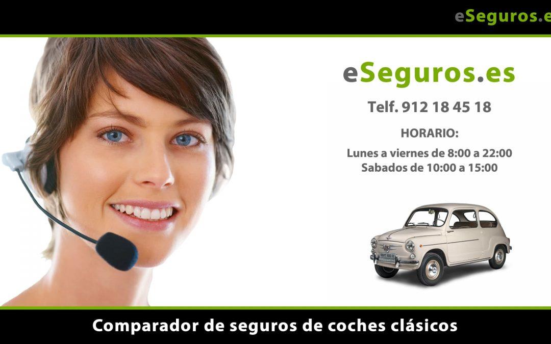 Nuevo Comparador de Seguros de Coche Clásico en www.eSeguros.es