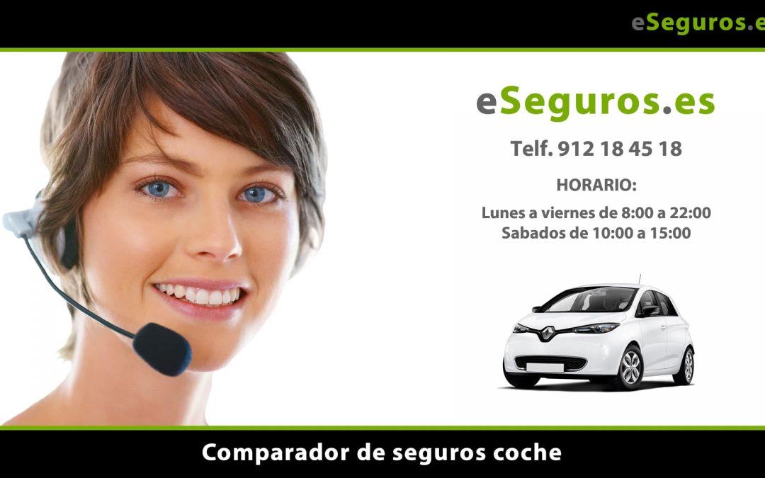 Nuevo Comparador de Seguros de Coche en www.eSeguros.es