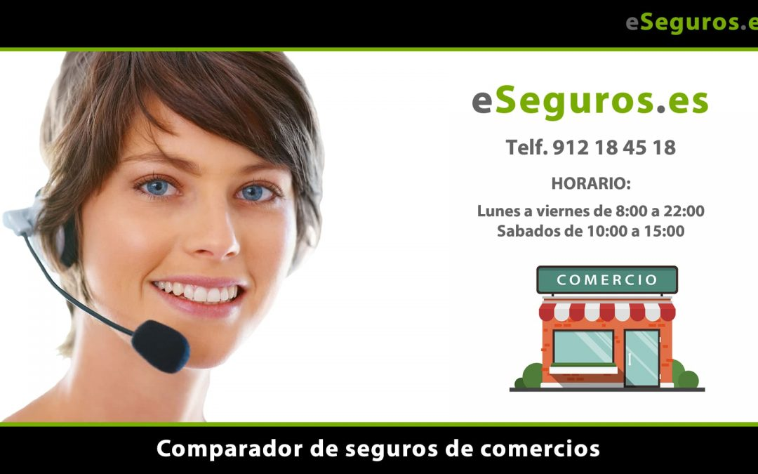 Nuevo Comparador de Seguros de Comercios en www.eSeguros.es