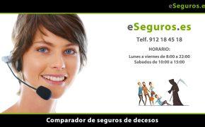Nuevo Comparador de Seguros de Decesos en www.eSeguros.es