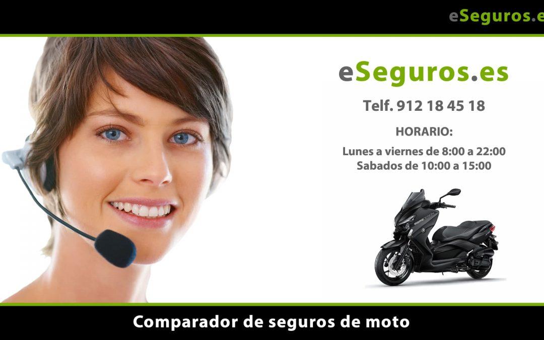 Nuevo Comparador de Seguros de Moto en www.eSeguros.es