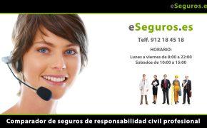 Nuevo Comparador de Seguros de Responsabilidad Civil Profesional en www.eSeguros.es