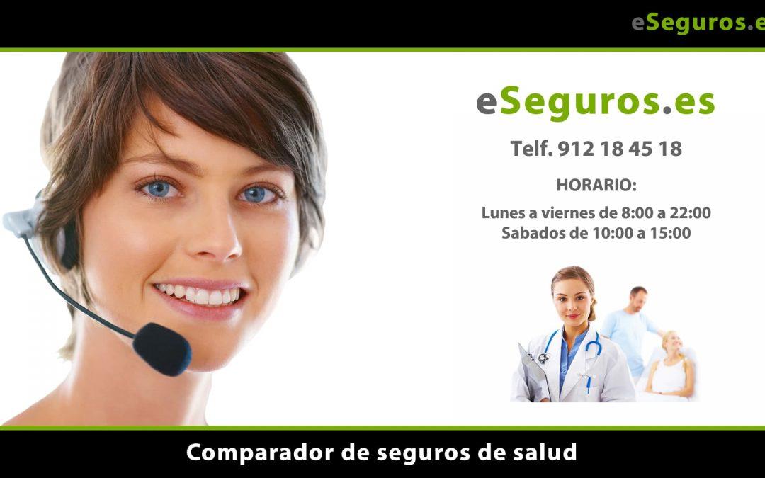 Nuevo Comparador de Seguros de Salud en www.eSeguros.es