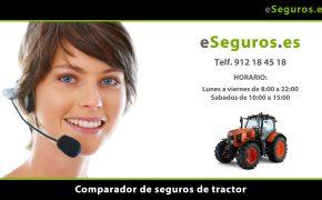 Nuevo Comparador de Seguros de Tractor en www.eSeguros.es