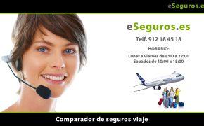 Nuevo Comparador de Seguros de Viaje en www.eSeguros.es